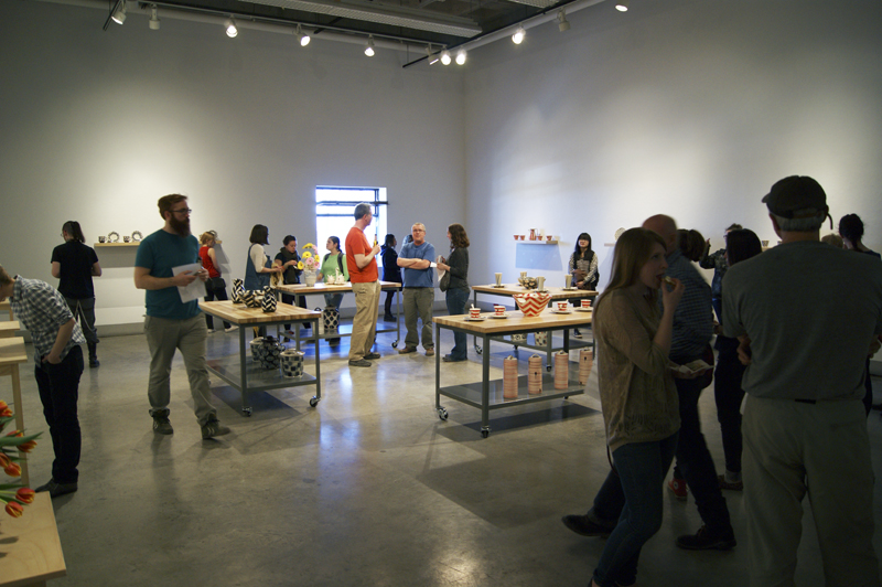 Gallery View - Opening reception