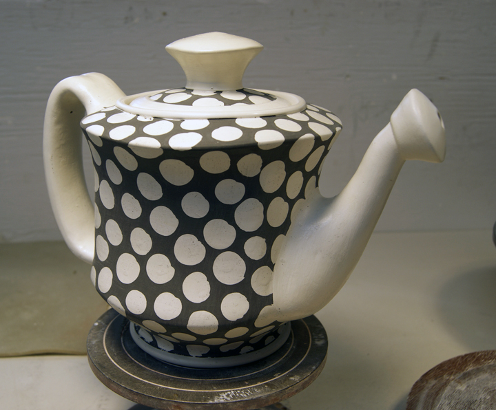 Teapot after Deco applicaiton