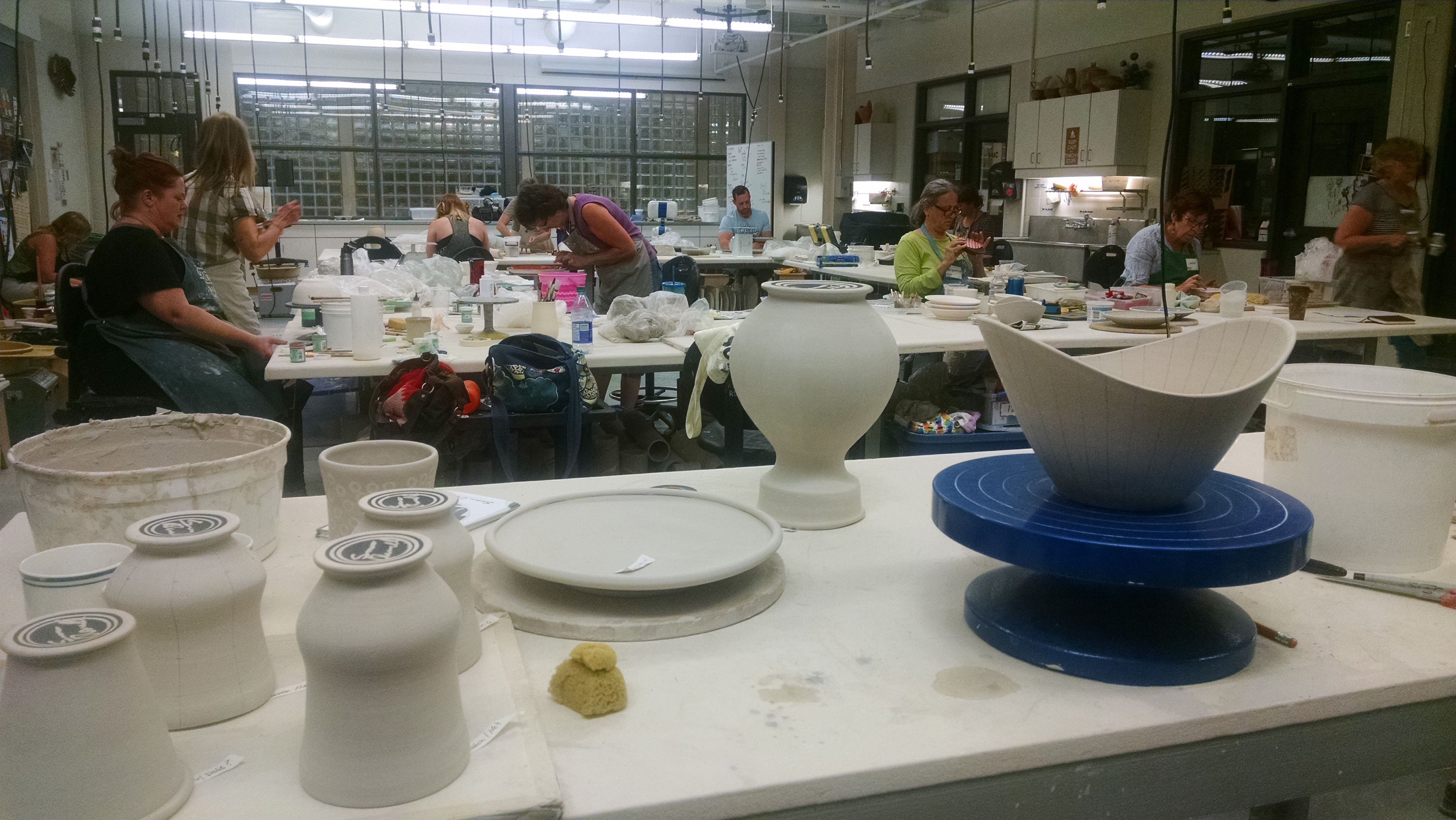 Red Deer College Ceramics Studio